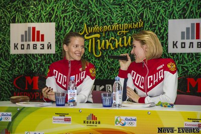 Екатерина Дьяченко и Ольга Кочнева (фехтование)