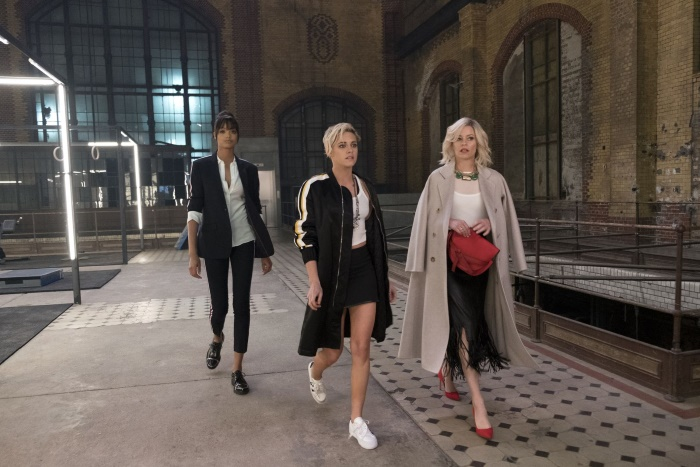 Kristen Stewart, Elizabeth Banks and Ella Balinska star in Charlie's Angels